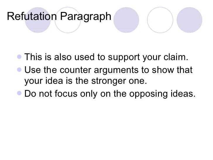 Refutation Essay Refutation Essay Examples Co Refutation Essay