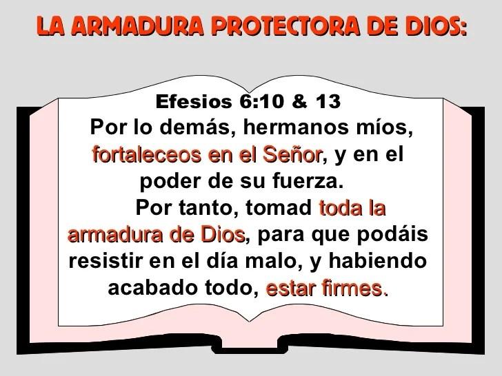 La Armadura De Dios Para Ninos