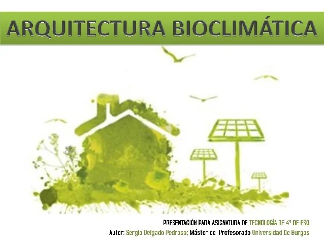 Arquitectura Bioclimtica
