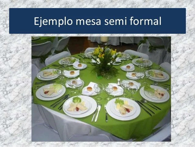 Mesa Semi Formal
