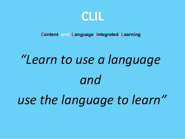 How to use CLIL based activities to teach art and Italian
