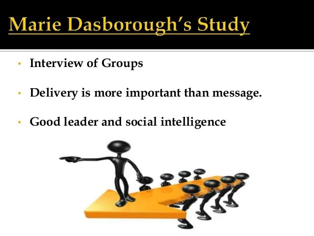 Social Intelligence And The Biology of Leadership By