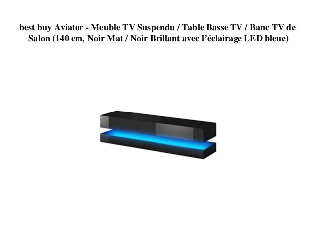 best buy aviator meuble tv suspendu
