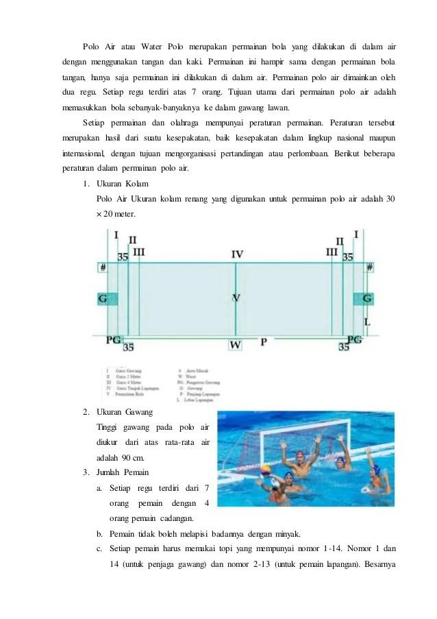 Olahraga Polo Air | sporteducations