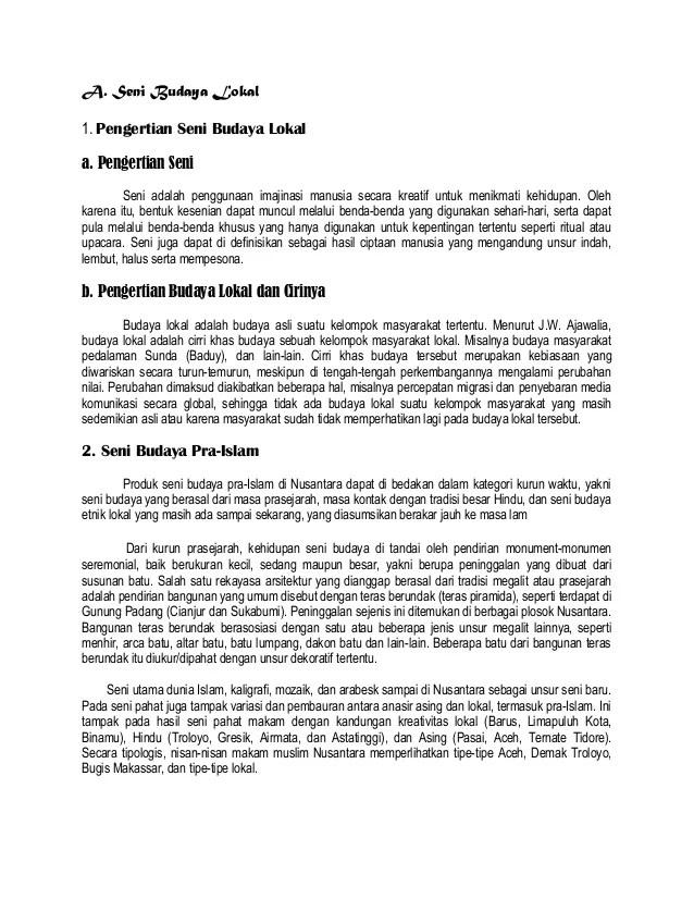 Contoh Budaya Islam : contoh, budaya, islam, Artikel