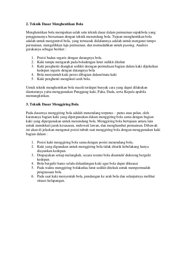 Jelaskan Pengertian Menggiring Bola : jelaskan, pengertian, menggiring, Sebutkan, Teknik, Menggiring, Dalam, Permainan, Sepak