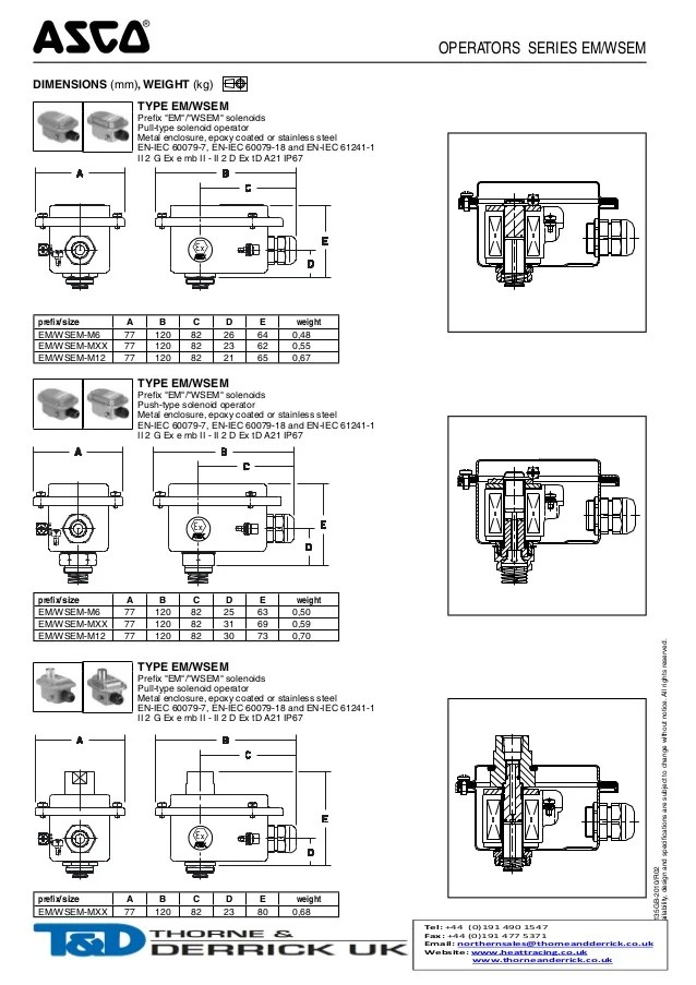Solenoid Valve Wiring Diagram : Asco red hat solenoid valve wiring diagram three way