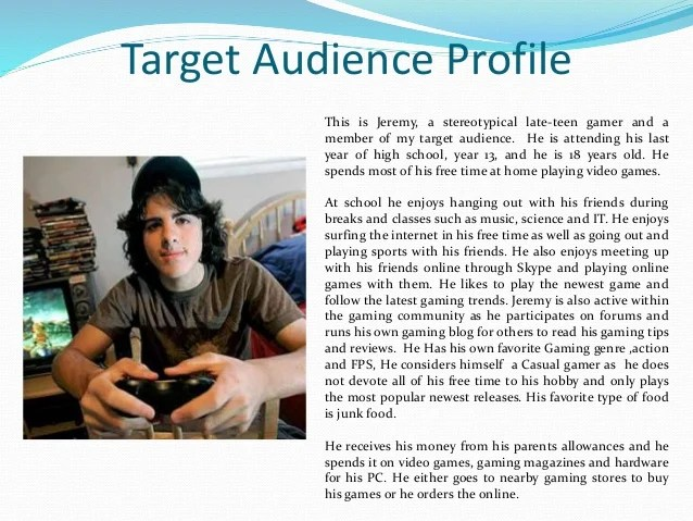 As Media Gaming Magazine Demographics And Potential Audience