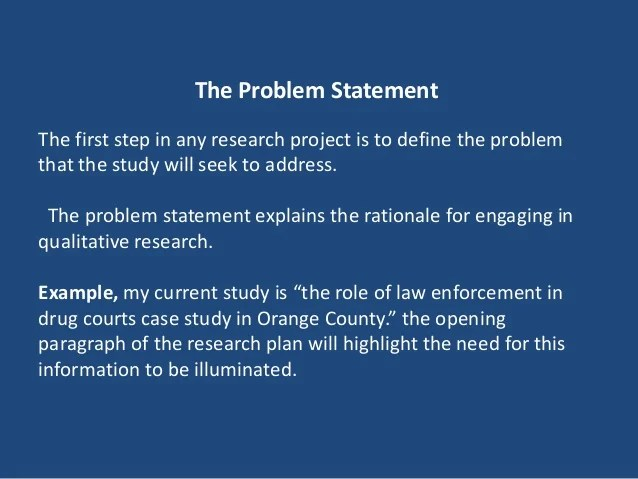 Problem Statement Research Paper Problem Statement Research Paper