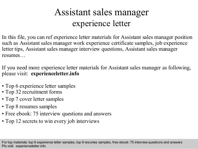 Associate Sales Manager Cover Letter