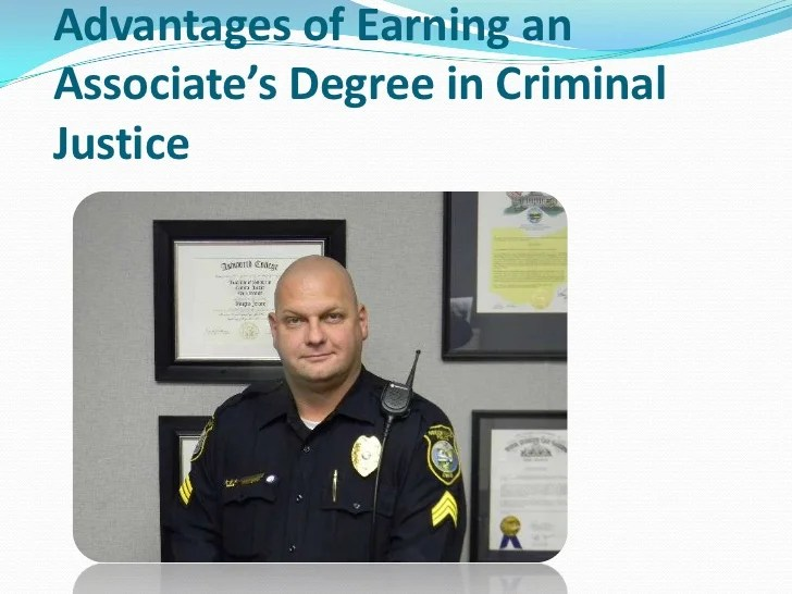 Advantages Of Earning An Associate's Degree In Criminal