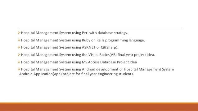 Hospital Management System Vb Net And Sql Server - Inspirational