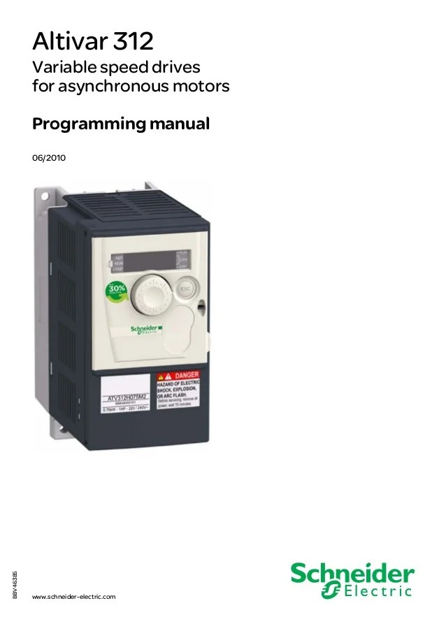 Rj45 Pinout Wiring Diagram Atv312 Programming Manual