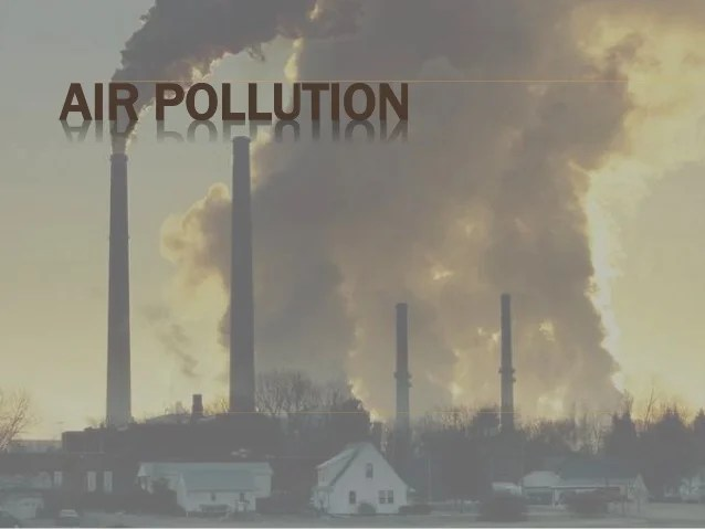 air pollution with case
