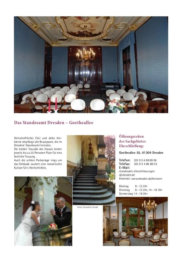 Magazin Heiraten in Dresden 2014
