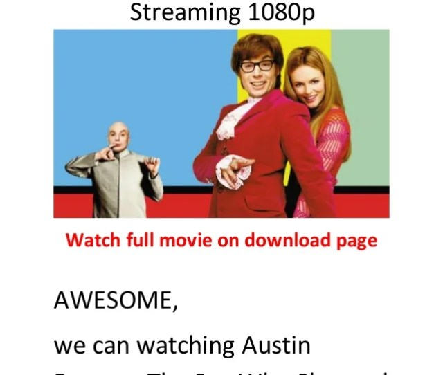 Austin Powers The Spy Who Shagged Me1999 Hollywood Action Comedy Movies