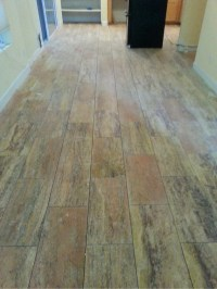 Phoenix Travertine Tile Flooring Planks Remodeling Contractor