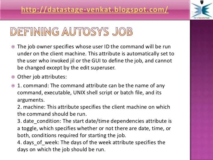 Autosys Job Types - Interior Design Ideas for Home decor