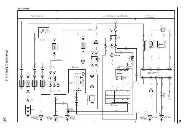 Wiring Diagram Speedometer Avanza