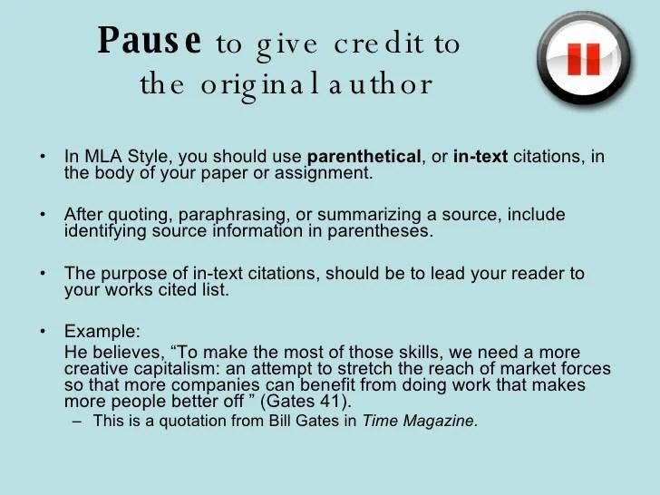 Avoiding Plagiariarism PowerPoint Slideshow