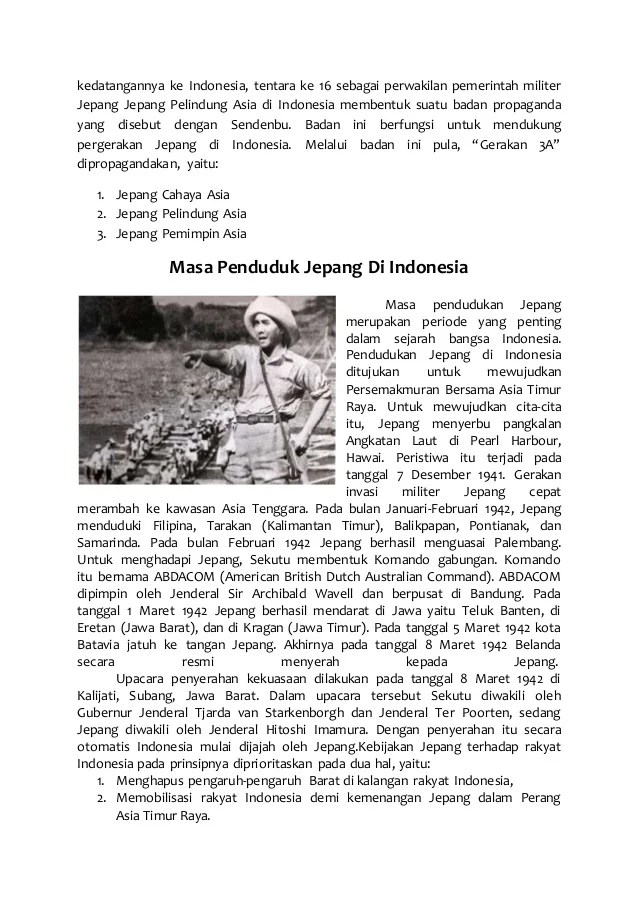 Cara Jepang Menarik Simpati Indonesia : jepang, menarik, simpati, indonesia, Penjajahan, Jepang, Indonesia, Sejarah