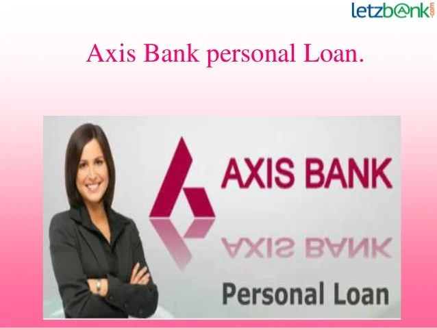Axis Bank Personal Loan Prepayment