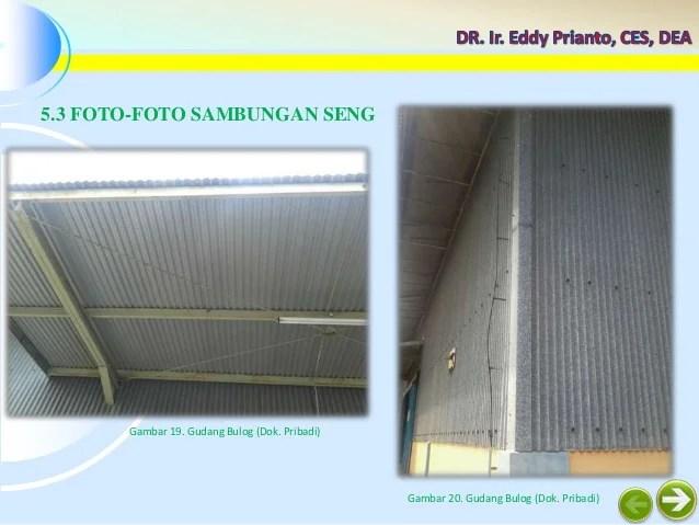 Struktur dan Konstruksi I  Mengenal Dinding Logam Seng