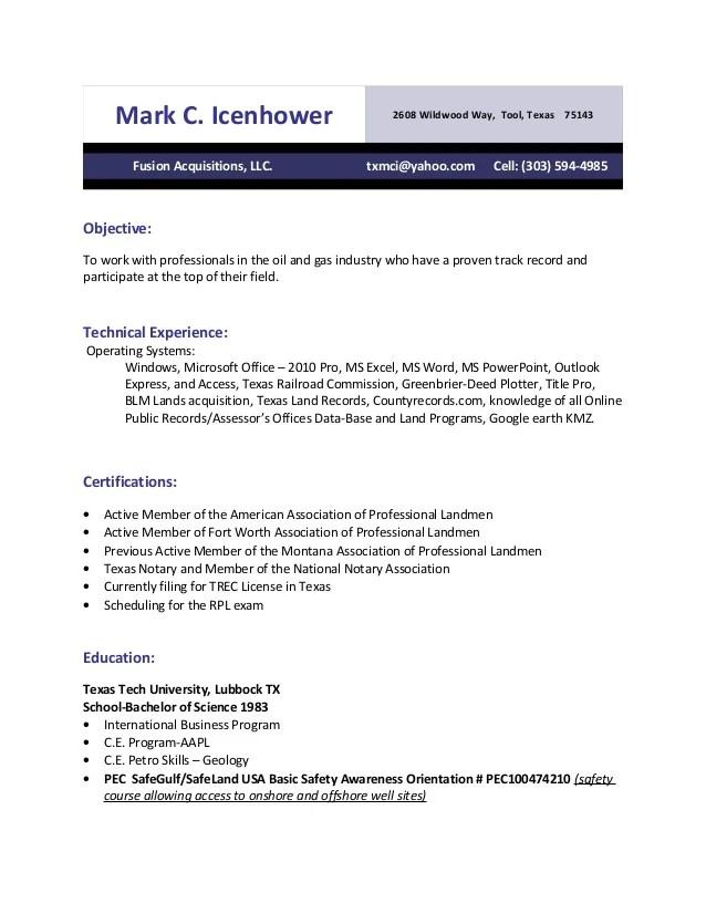 resume cv cover letter 7 landman resume examples job description - Landman Resume Example