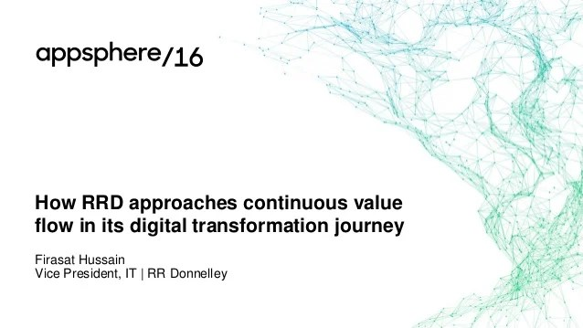 How RRD Approaches Continuous Value Flow in its Digital