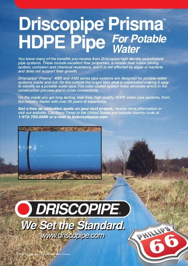 Prisma Pipe Advertisement