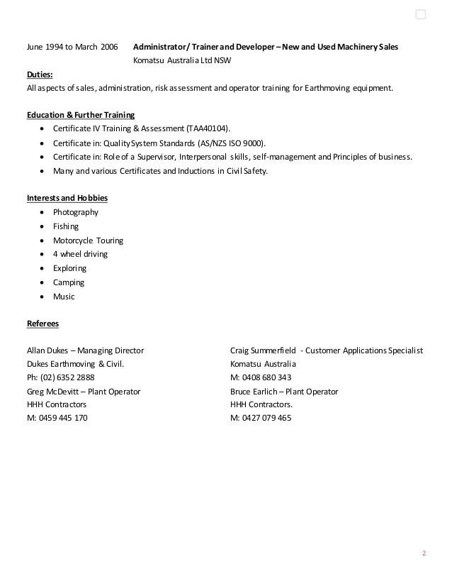 assessment supervisor resume sample