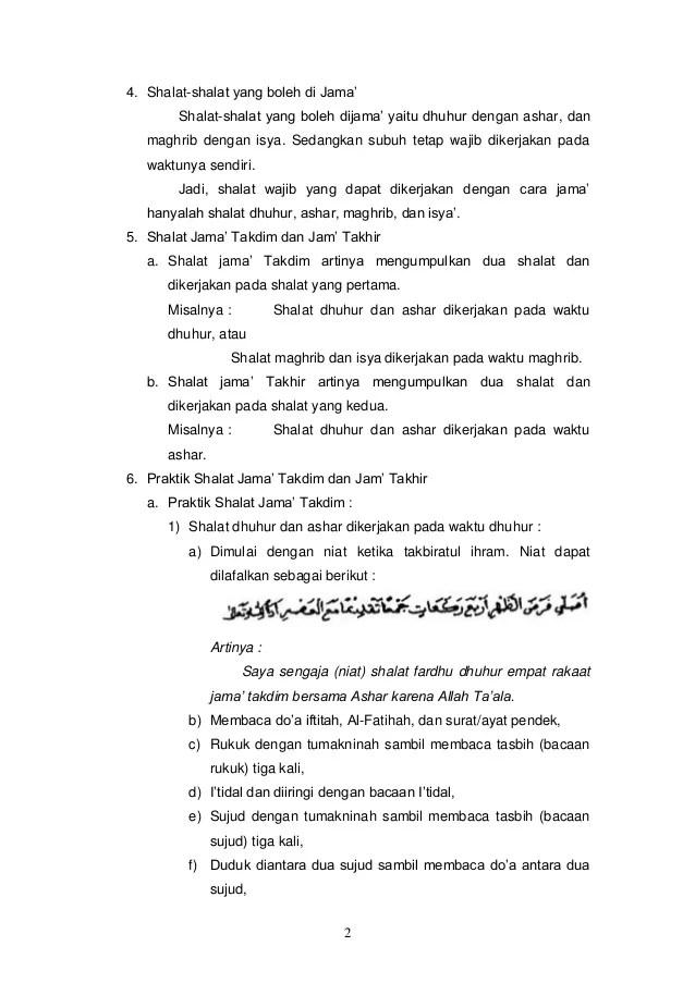 Tata Cara Menjamak Sholat : menjamak, sholat, Shalat, Jamak, Qasar, Takhir, Menata, Cute766