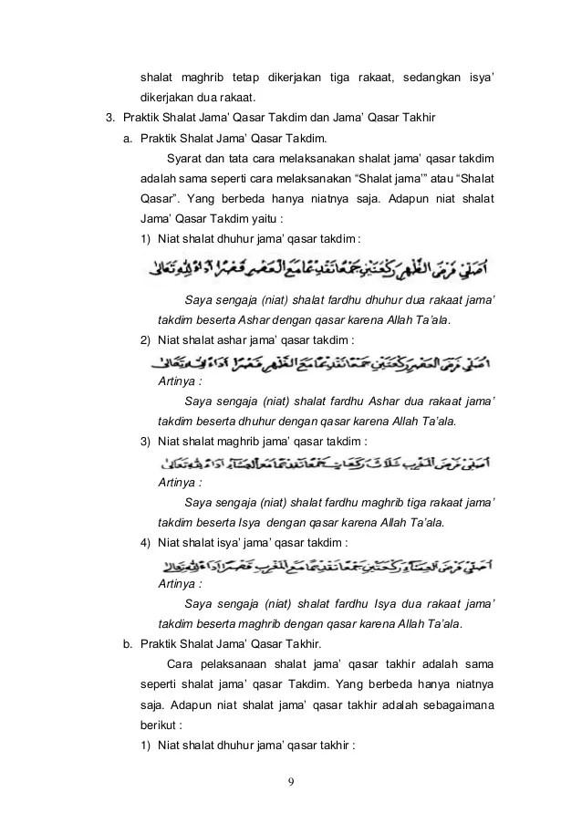 Tata Cara Shalat Jamak Qasar : shalat, jamak, qasar, Shalat, Jama', Qasar