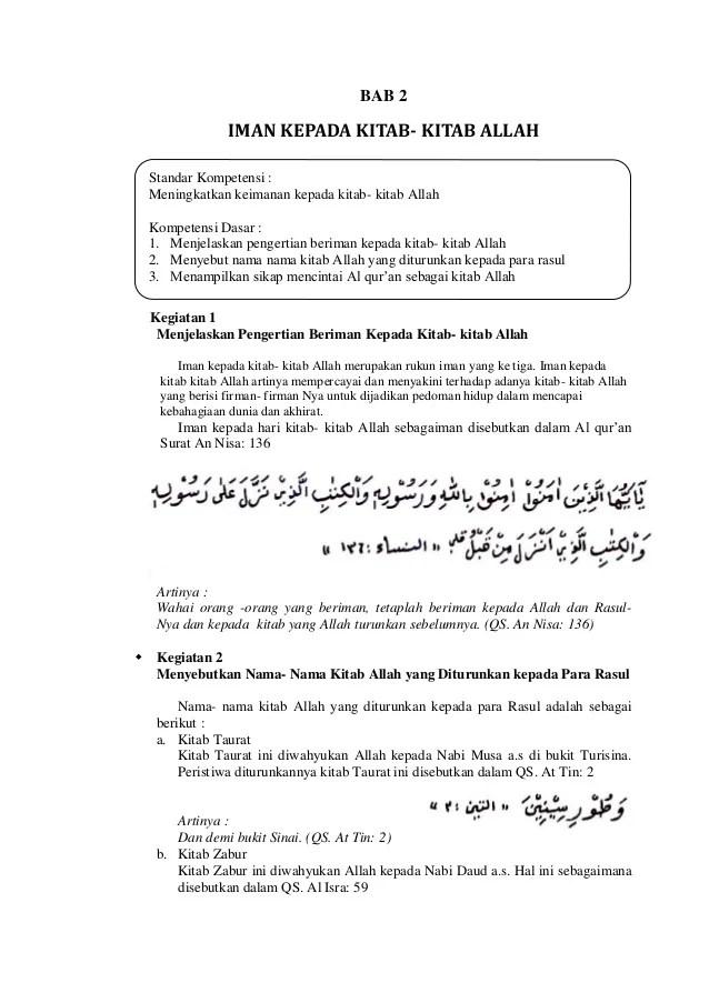 Pengertian Kitab Allah : pengertian, kitab, allah, Kepada, Kitab-Kitab, Allah