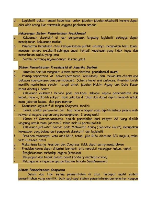 Kelebihan Dan Kelemahan Sistem Pemerintahan Presidensial : kelebihan, kelemahan, sistem, pemerintahan, presidensial, Kelas