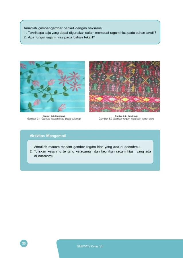 Menerapkan Ragam Hias Pada Bahan Tekstil : menerapkan, ragam, bahan, tekstil, Menerapkan, Ragam, Bahan, Tekstil