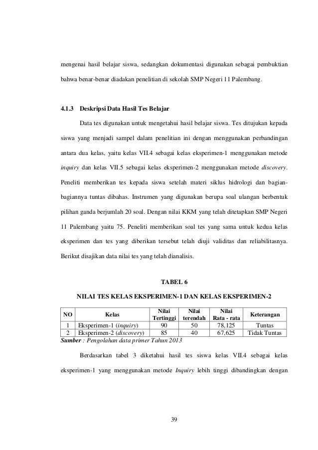 Contoh Bab 4 Skripsi Kuantitatif : contoh, skripsi, kuantitatif, Contoh, Materi, Pelajaran, Tesis, Kuantitatif