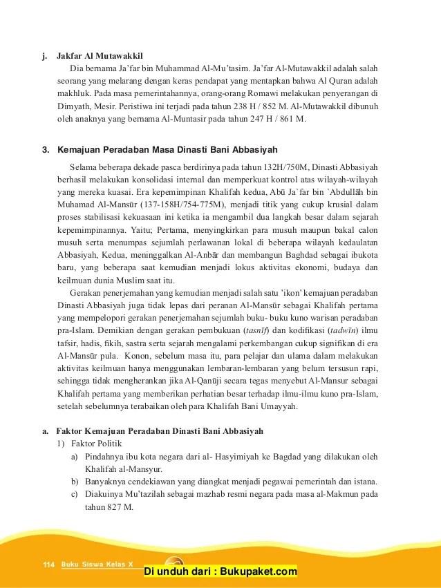 Kemajuan Bani Abbasiyah : kemajuan, abbasiyah, Perkembangan, Islam, Daulah, Abbasyiyah