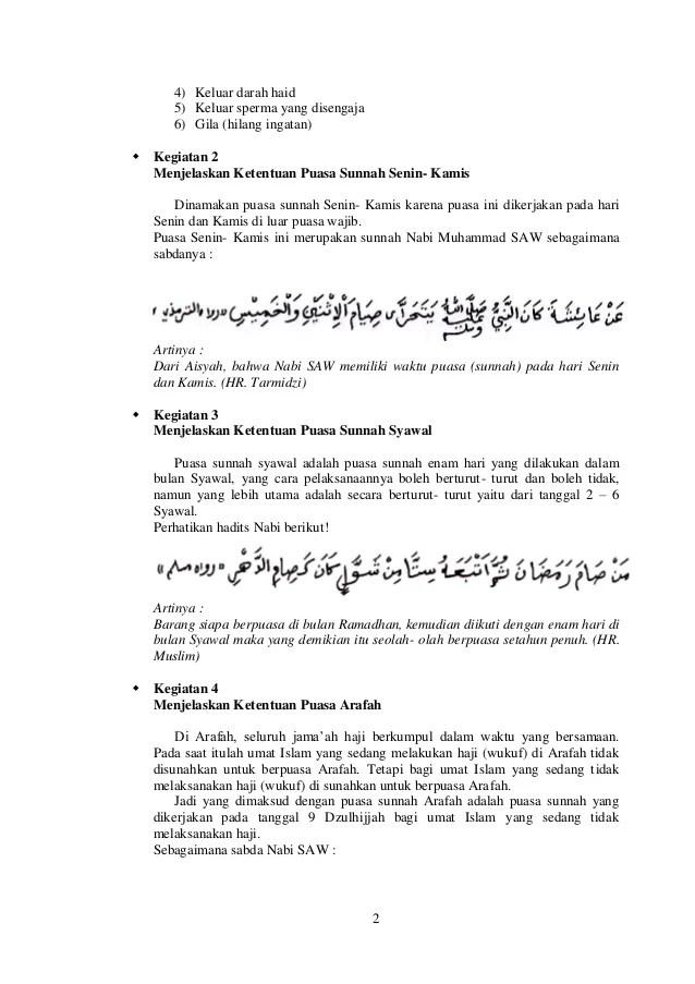 Jelaskan Macam Macam Puasa Sunnah : jelaskan, macam, puasa, sunnah, Puasa, Wajib, Sunnah