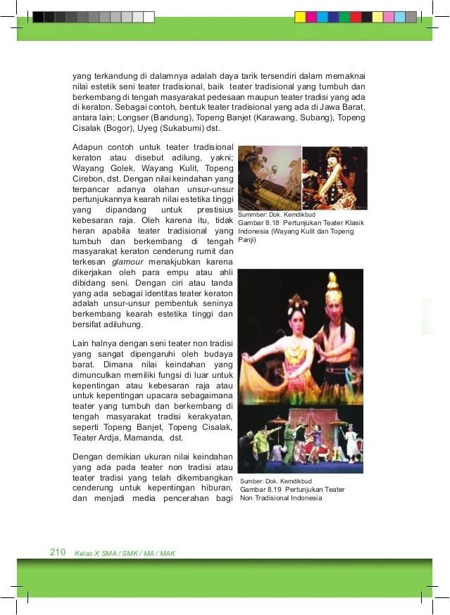 Teater Tradisional Jawa Tengah : teater, tradisional, tengah, Kelas, Budaya