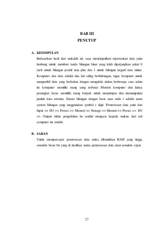 Contoh Penutup Makalah : contoh, penutup, makalah, PENUTUP