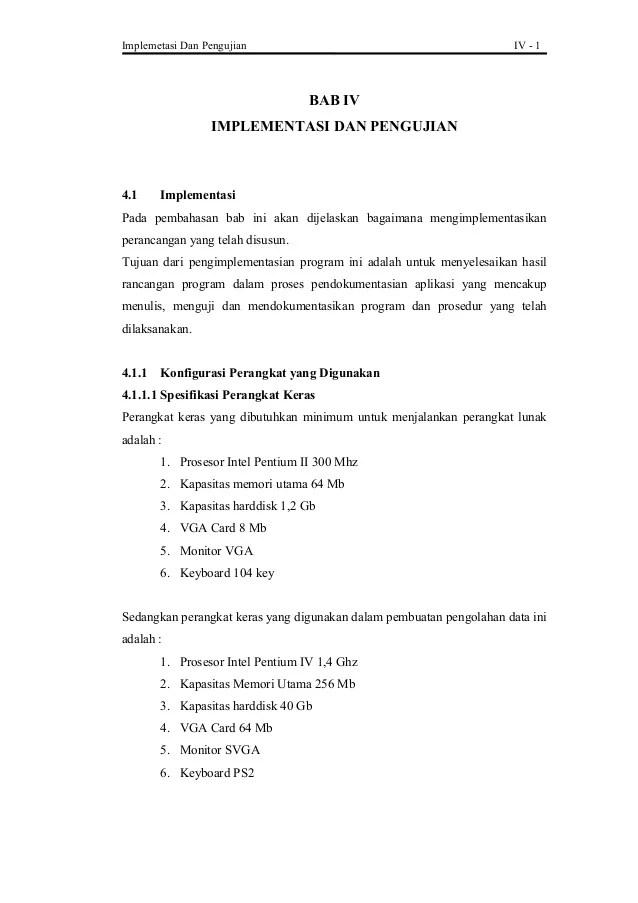 Contoh Skripsi Bab 4 Dan 5 Kualitatif Kumpulan Berbagai Skripsi Cute766
