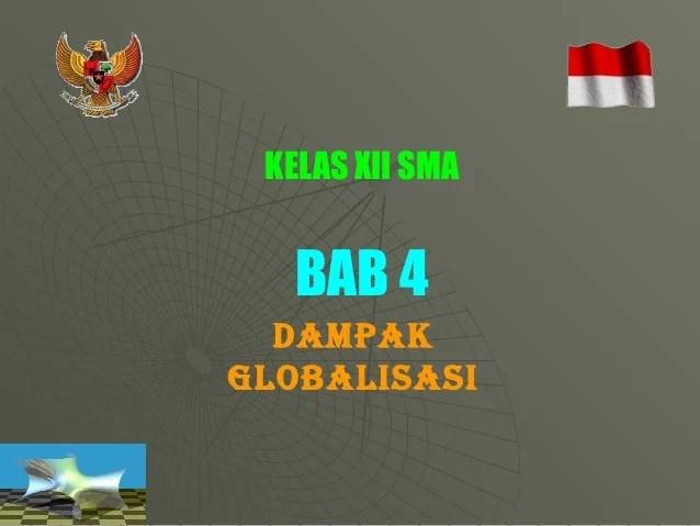 Bab Iv Pkn Xii Globalisasi