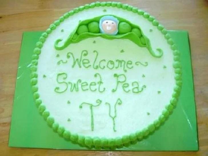 baby shower cupcakes cake
