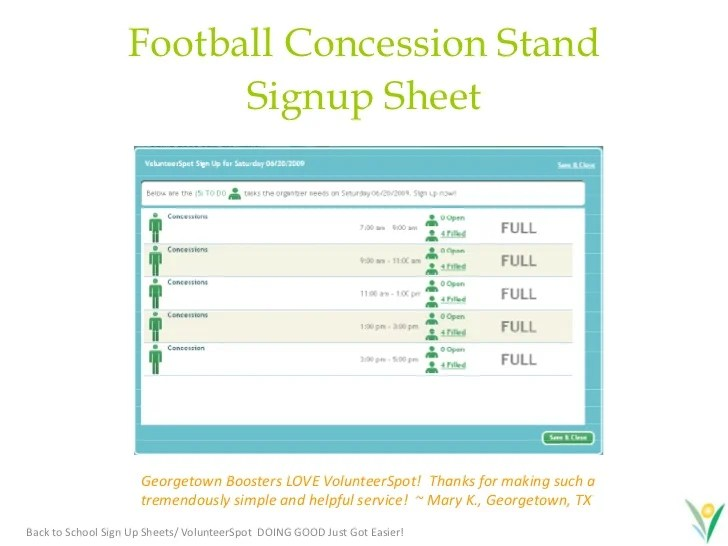 concession stand template