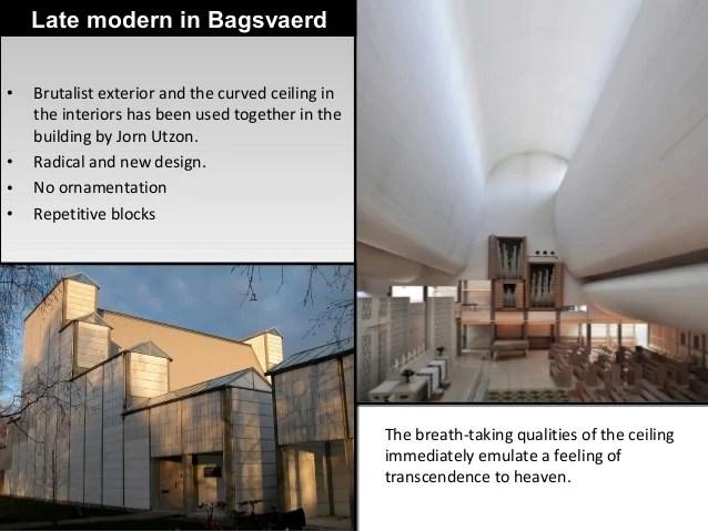 Late Modern Architecture  Critical comparision