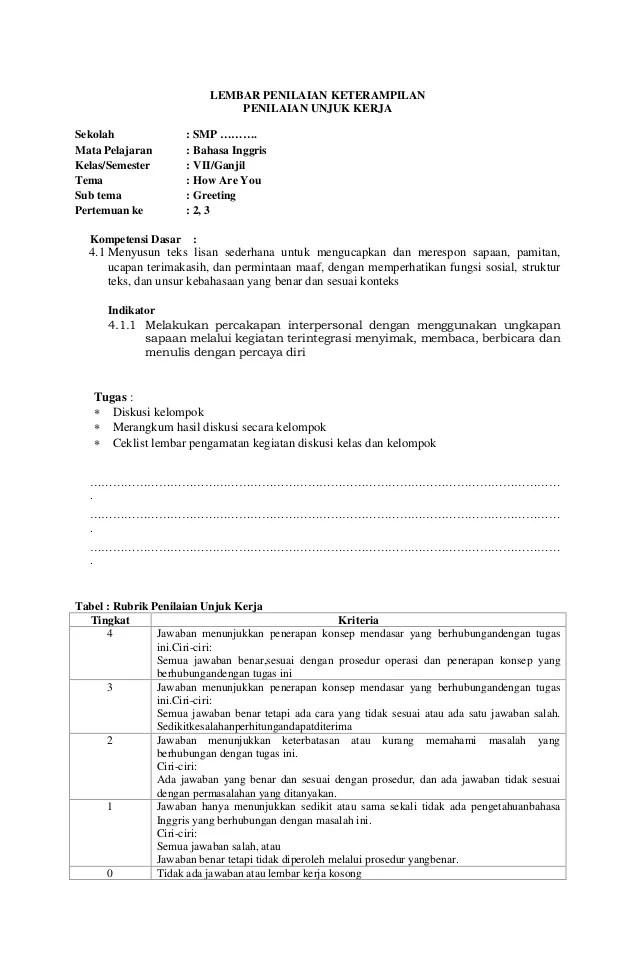 Contoh Portofolio Bahasa Sunda Download Contoh Lengkap Gratis