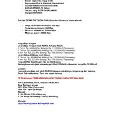 Alamat Baja Ringan Bandung 0853 2094 5084 Telkomsel Jual