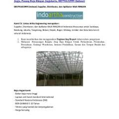 Harga Atap Baja Ringan Yogyakarta Galvalum Jogja Canopy Rangka Ring