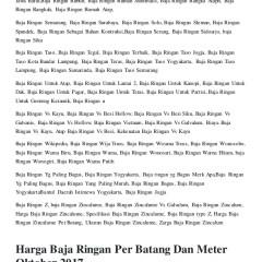 Harga Baja Ringan Per Meter Lampung Distributor Surabaya Tlp 0821 3233 9545